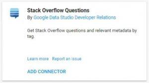 data studio connectors stack overflow